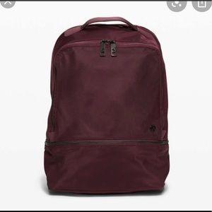 EUC lululemon city explorer backpack